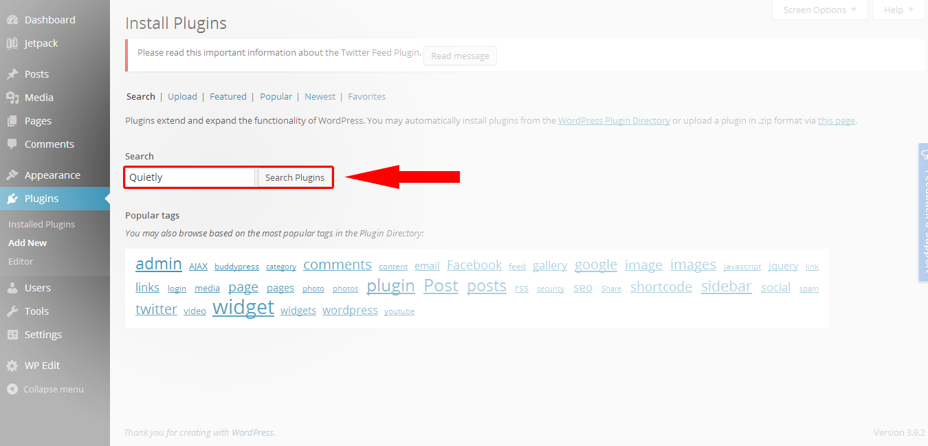 Here's How To Use Quietly's WordPress Plug-in - Quietly Blog