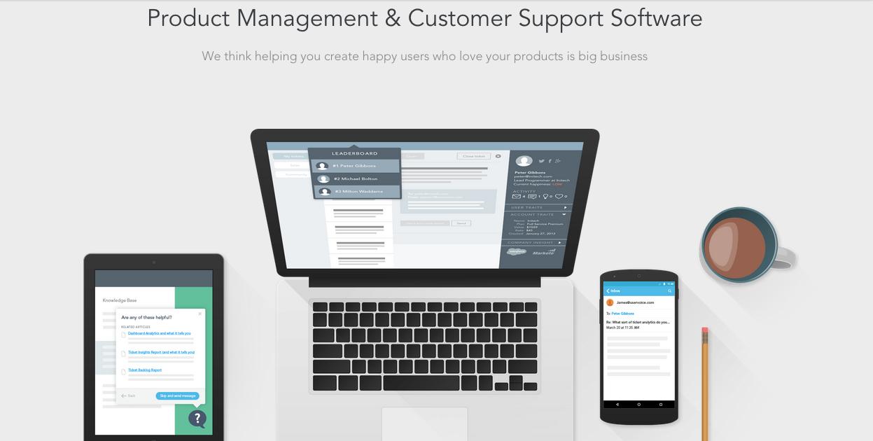 UserVoice Screenshot