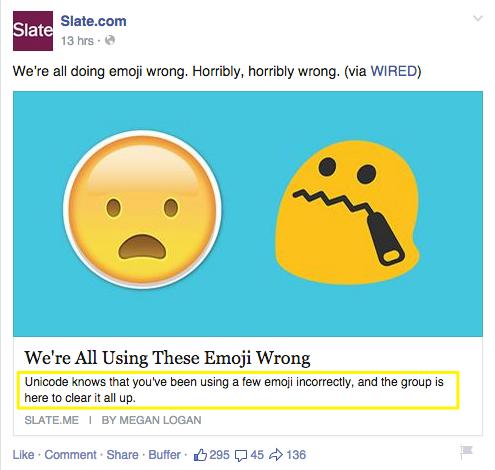 Good Social Metadata Example